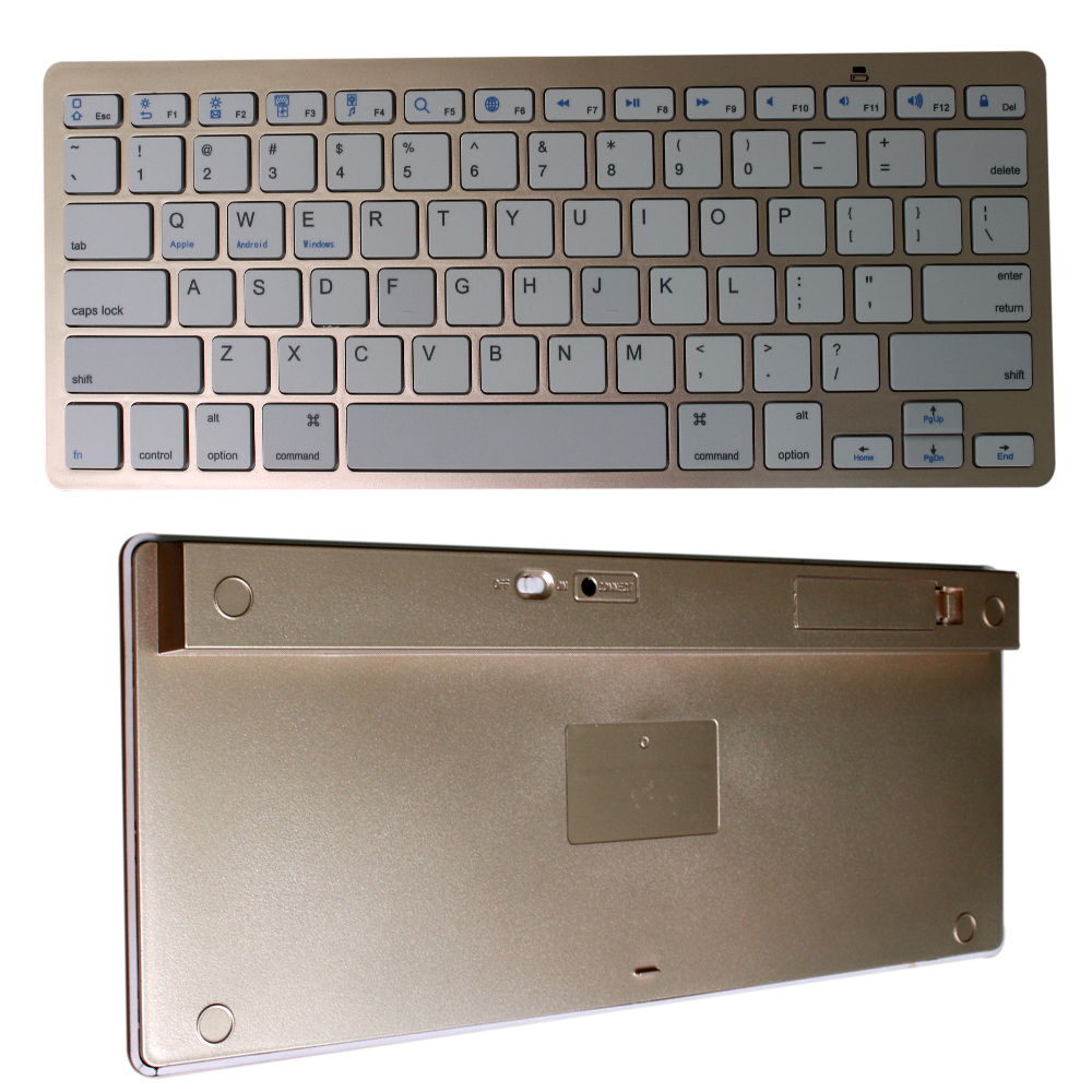 Ultra slim wireless usb keyboard for ipad air\iPad laptop