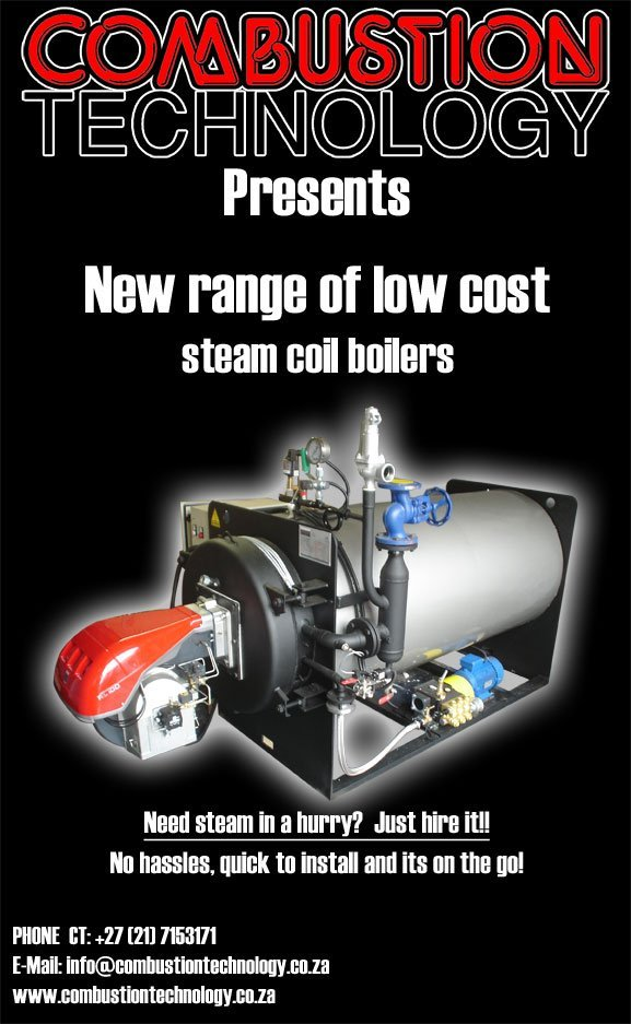 Low Cost Steam Coil Boilers
