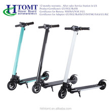 2017 HTOMT fashionable design mini travel electric mobility adult kick scooter