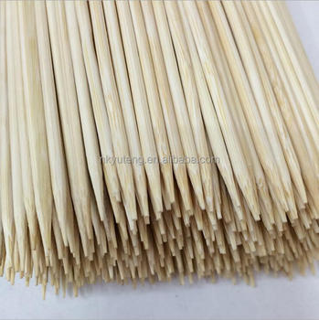 Factory directly supply barbecue bamboo sticks bamboo food prod