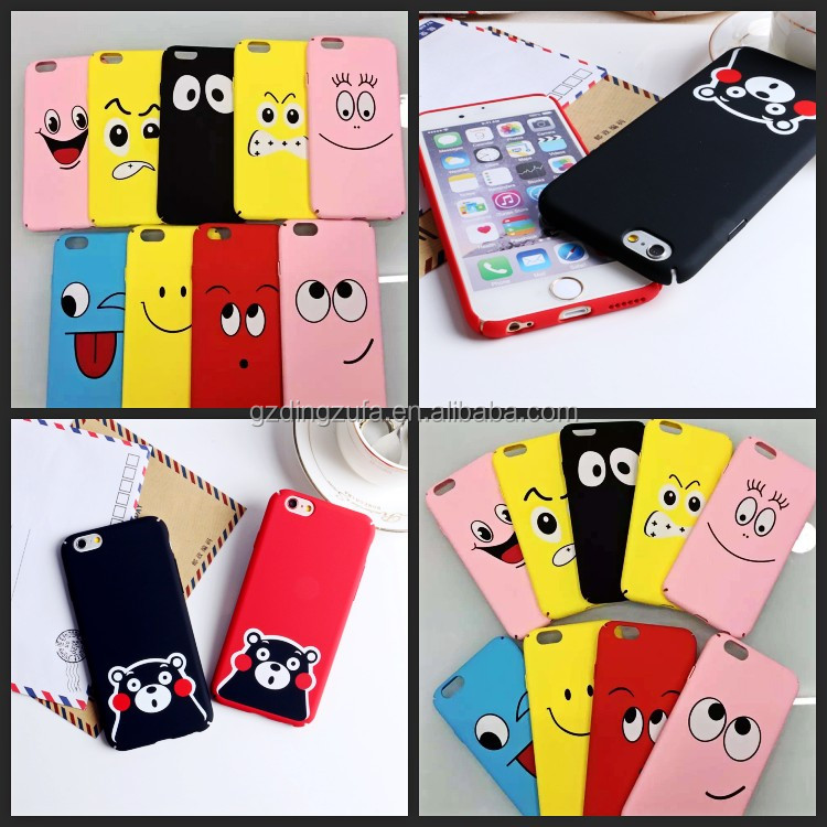Customed Printing Matte Surface Hard Protective Mobile Phone Back Cover cartoon Case for iPhone 5