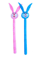 2017 best selling rabbit inflatable cheering sticks