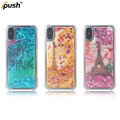 high quality high liquid quick-sand TPU+PC case , back cover case mobile accessories