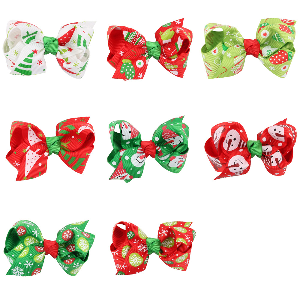 2017 bulk wholesale western new year hot sale kids baby christmas hairband
