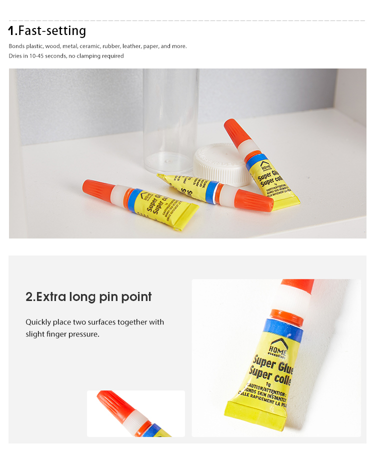 Multi-function 3 Packs Fast Dry Adhesive High Quality Super Glue