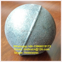 Dia 80mm Cast Grinding Steel Ball with Low Price for Mining