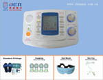 high-tech 4 channels electronic home comfortable medical massager