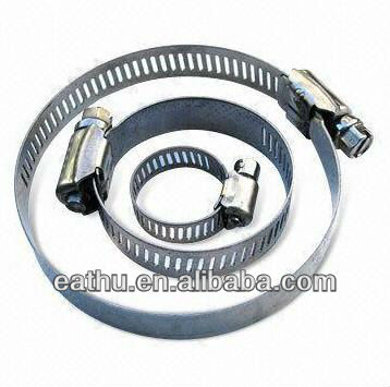 American Type Screw Worm Drive Hose Clamp