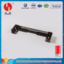 Black electrophoresis finish mounting bracket electric welding product