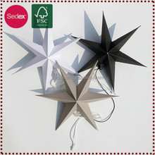 Decorative Paper Stars Lucky Paper Star Lantern as Logo Promotional Gifts