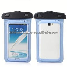 Cheap custom mobile phone cases Watertight bag for samsung note2 n7100 waterproof bag for samsung note 2