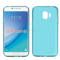 clear Transparent soft mobile phone case for Samsung J2 pro 2018 tpu back cover