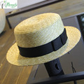 China Qingdao manufactory beauty ladies wheat straw hat