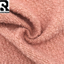 European Fashion 100% Polyester Loops Wool Fabric for Garment