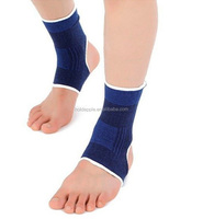 Sports Gym Blue Elastic Stretch Ankle Protection Brace Guard Foot Ankle Support Adorable Nice HA01635