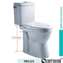 sanitaryware ceramic high rise toilet for elderly and disabled NR1121