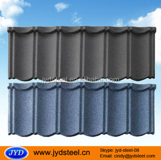 color stone coated metal roof tile/steel roof sheet