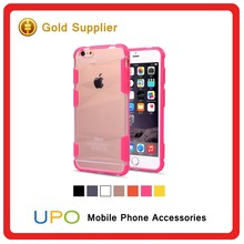 [UPO] Fashion Sport Dual Color Bumper Phone Cover Hybrid Hard PC + TPU Combo Case for iPhone 5 5s 6 6s