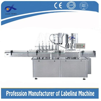 Automatic fruit juice, drinking water glass filling machine