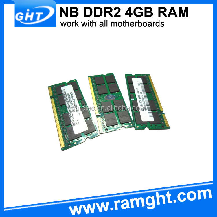 Computers/laptops suppliers non ecc unbuffered 4gb ddr2 sodimm RAM