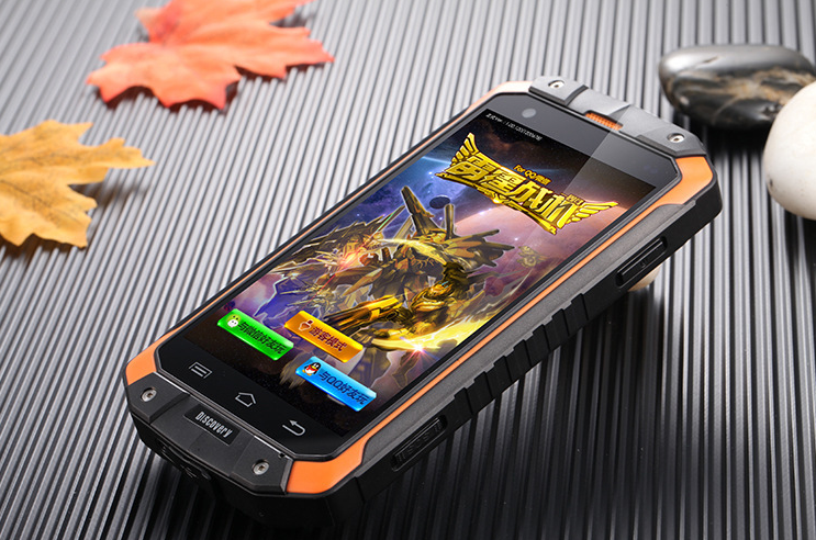 V9 discovery IP68 Waterproof shockproof smart phone MSM8212 Quad Core 5.5 inch 1GB RAM 16GB ROM