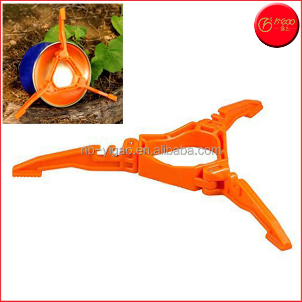 Foldable Outdoor Camping Hiking Cooking Gas Tank Stove Stand Cartridge Canister Tripod