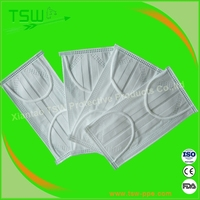 Dental disposable products factory face mask 3 layer safety products for bird flu