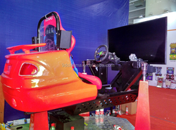 car driving training simulator 360 degree rotation racing car cinema game racing machine car simulator