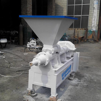 Automatic operate coal powder briquette screw machine