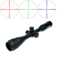 3-9x40 AOME Tactical Scope Hunting Optics RGB Rifle Scope AR15 Gun Sights