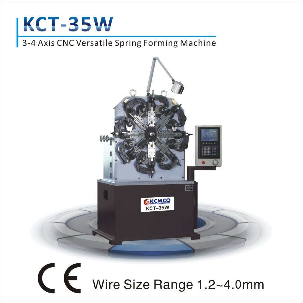 KCT-35W Good quality! CNC extension spring coiling machine&torsion spring machine