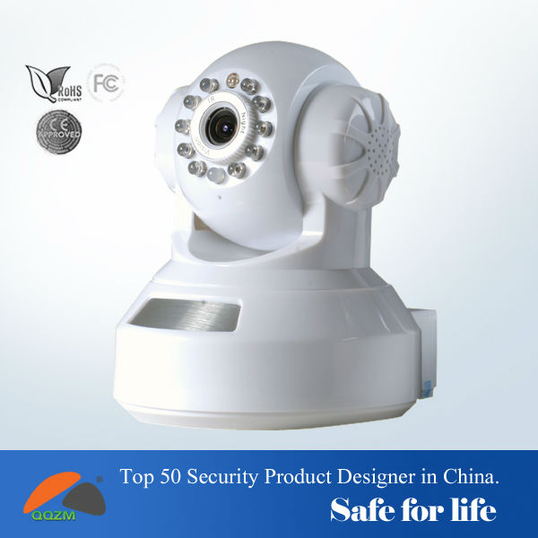 H.264 PT IP Camera Wireless WiFi IP Camera With IR-CUT,SD Card Slot,Support Iphone Android Windows Mobile to Monitor