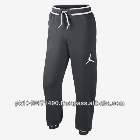 lastest baseball custom dark grey color 80%cotton & 20%polyester fleece trouser/pant/pajama for Adult, mens, womens, unisex