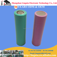 3.7V 1500mAh rechargeable 18650 lithium ion battery cell