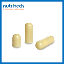 natural clear o2 empty plastic capsules