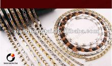 big necklace with different types of necklaces