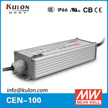 MW 100w 36v 2.1a CEN-100-36 ac to dc constant current external PFC led driver