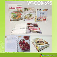 WT-COB-695 hardcover recipes cards collection book