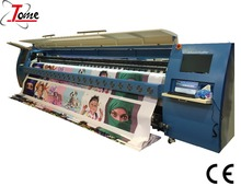 5m large format printer outdoor flex banner printing machine with konica 512i head solvent printer