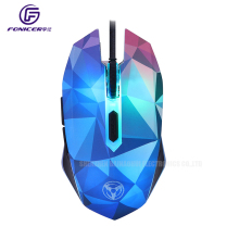 OEM dazzle color diamond edition 3200DPI 6d gaming mouse wired mouse gamer optical