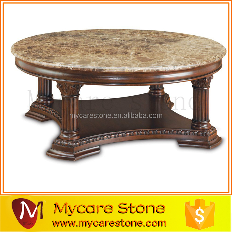 Cheap beautiful best sale round marble slab table tops for for Marble table tops for sale