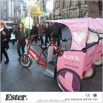 ESTER Electric Taxi Passenger Tricycle