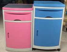 Safebond 2016 high quality Medical hospital use ABS plastic bedside cabinet