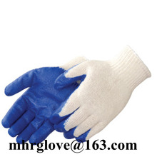 Brand MHR New premium latex rubber coated palm antiskid safety work gloves