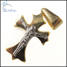 2016 most popular stainless steel cheap cross pendant