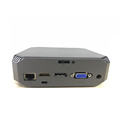 CK2 NUC Core i3 7100U Mini PC Windows10 Computer HD VGA DP triplel display DDR3 suport 2.5inch HDD 4K HTPC