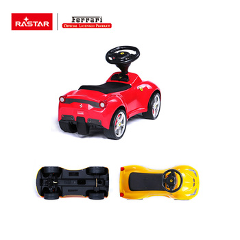 Rastar best toys Ferrari 458 baby walker car with horn