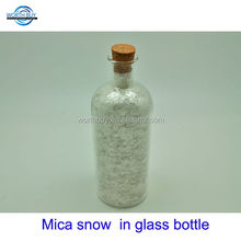 6 oz mica snow white applied on Christmas or wedding stage decoration