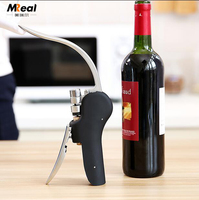 Christmas promotional gift sets Bottle Opener Style Lever wine rabbit corkscrew set