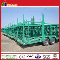heavy duty car/vehicle carrier vehicle semi trailers (skeleton/ Box type optional)